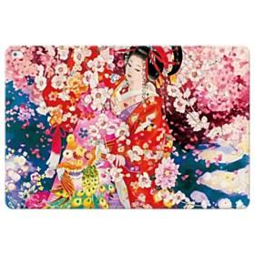 和・花魁&桜 iPad Pro 12.9 (2015) 合皮 手帳型ケース