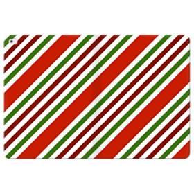メリー クリスマス ストライプ パターン iPad Pro 12.9 (2015) 合皮 手帳型ケース
