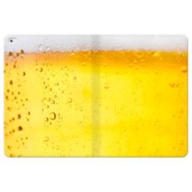 金麦かな?冷やして、おいしいビール! iPad Pro 12.9 (2015) 合皮 手帳型ケース
