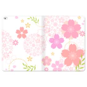 桜の形・いろいろ iPad Pro 12.9 (2015) 合皮 手帳型ケース