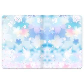 爛漫桜の花 iPad Pro 12.9 (2015) 合皮 手帳型ケース