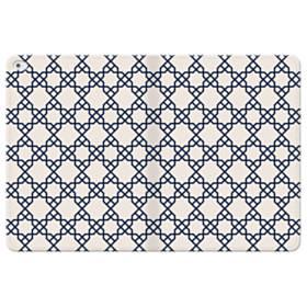 アートな幾何図モチーフ1 iPad Pro 12.9 (2015) 合皮 手帳型ケース