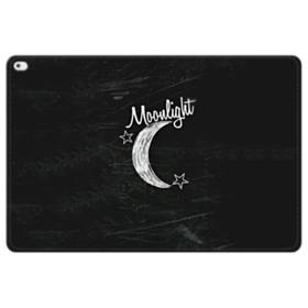 デザイン アルファベット010 moonlight iPad Pro 12.9 (2015) 合皮 手帳型ケース