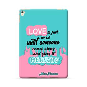 愛の意味 iPad Pro 9.7 (2016) ポリカーボネート ハードケース