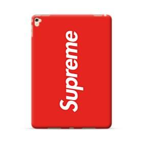 ニューヨークより赤のシュプリーム(super me) iPad Pro 9.7 (2016) ポリカーボネート ハードケース