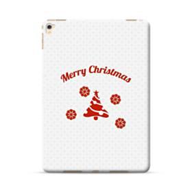 メリー クリスマス デザイン ツリー iPad Pro 9.7 (2016) ポリカーボネート ハードケース