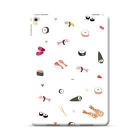 お寿司 the SUSHI  エビ寿司 のり巻き  ホワイト ハート iPad Pro 9.7 (2016) ポリカーボネート ハードケース