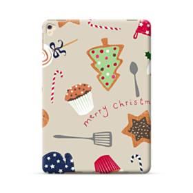 メリー クリスマス スイーツ モチーフ iPad Pro 9.7 (2016) ポリカーボネート ハードケース