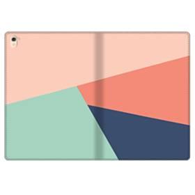 デザイン・アートな色のパターン002 iPad Pro 9.7 (2016) 合皮 手帳型ケース