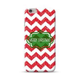 デザイン メリー クリスマス iPhone 6S/6 ポリカーボネート ハードケース