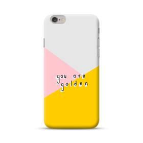 デザイン・アルファベット:You are golden. iPhone 6S/6 ポリカーボネート ハードケース