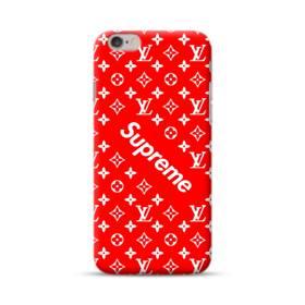 ルイ・ヴィトン&シュプリーム赤バージョン) iPhone 6S/6 ポリカーボネート ハードケース