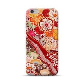 和・花柄 iPhone 6S/6 ポリカーボネート ハードケース