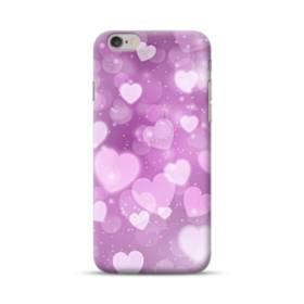 爛漫・ハート柄 iPhone 6S/6 ポリカーボネート ハードケース
