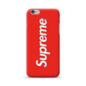ニューヨークより赤のシュプリーム(super me) iPhone 6S/6 ポリカーボネート ハードケース
