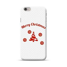 メリー クリスマス デザイン ツリー iPhone 6S/6 ポリカーボネート ハードケース