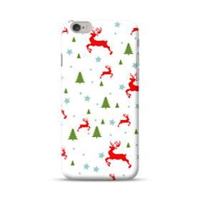 メリー クリスマス モチーフ001 iPhone 6S/6 ポリカーボネート ハードケース