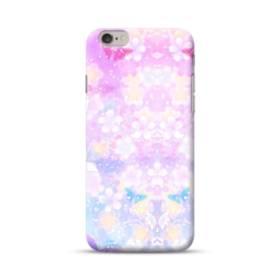 爛漫・抽象的な桜の花 iPhone 6S/6 ポリカーボネート ハードケース