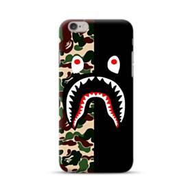 シュプリーム  カモフラージュ&ブラック模様 iPhone 6S/6 ポリカーボネート ハードケース