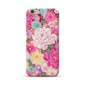 和の花柄:牡丹 iPhone 6S/6 ポリカーボネート ハードケース