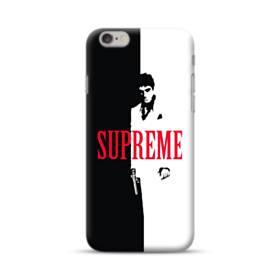 デザイン 白黒系パターン(アルファベット入り:SUPER ME) iPhone 6S/6 ポリカーボネート ハードケース