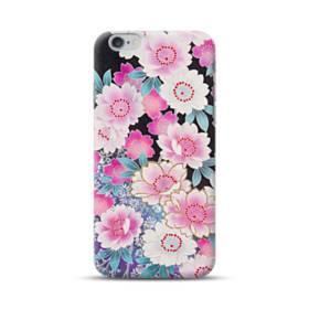 和の花柄 iPhone 6S/6 Plus ポリカーボネート ハードケース