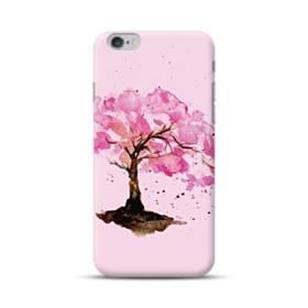 水彩画・桜の木 iPhone 6S/6 Plus ポリカーボネート ハードケース