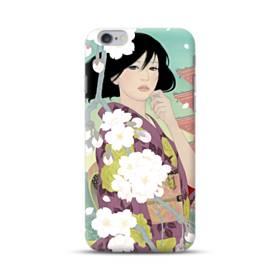 ザ・桜&ジャパンガール! iPhone 6S/6 Plus ポリカーボネート ハードケース