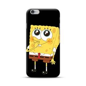 可愛いスポンジボブ iPhone 6S/6 Plus ポリカーボネート ハードケース