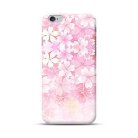 爛漫・ピンク&桜色 iPhone 6S/6 Plus ポリカーボネート ハードケース