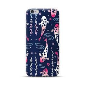 和柄:桜&錦鯉 iPhone 6S/6 Plus ポリカーボネート ハードケース