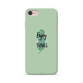デザイン アルファベット011 enjoy the little things iPhone 7 ポリカーボネート ハードケース