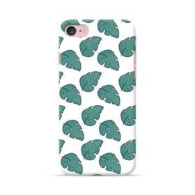 グリーン リーフ モチーフ green leaf motif iPhone 7 ポリカーボネート ハードケース