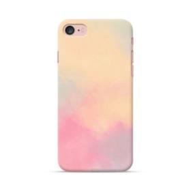 シンプルな色のアート iPhone 7 ポリカーボネート ハードケース