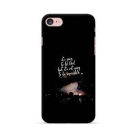 ブラック&デザイン アルファベット iPhone 7 ポリカーボネート ハードケース