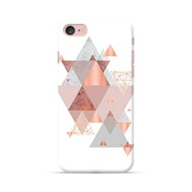 Geometry line pink ジオメトリック 幾何図 三角 抽象的  iPhone 7 ポリカーボネート ハードケース
