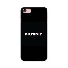 デザイン アルファベット005 birthday iPhone 7 ポリカーボネート ハードケース