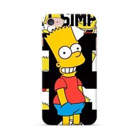 人気のバート・シンプソンちゃん  iPhone 7 ポリカーボネート ハードケース