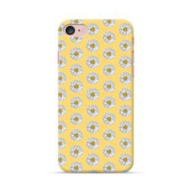フラワー・カモミールのパターン iPhone 7 ポリカーボネート ハードケース