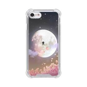 爛漫・夜桜&私たち iPhone 8 TPU クリアケース