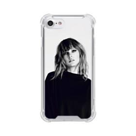 世界の彼女:テイラー・スウィフト01 iPhone 8 TPU クリアケース
