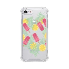 アイスバー&レモン iPhone 8 TPU クリアケース