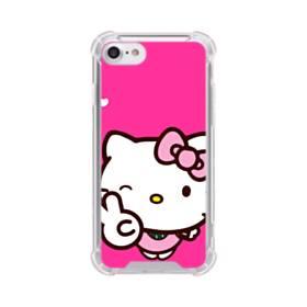 永遠に可愛い!キティちゃん iPhone 8 TPU クリアケース