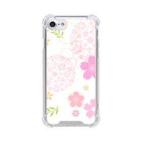 桜の形・いろいろ iPhone 8 TPU クリアケース