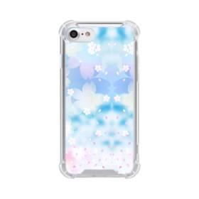 爛漫桜の花 iPhone 8 TPU クリアケース