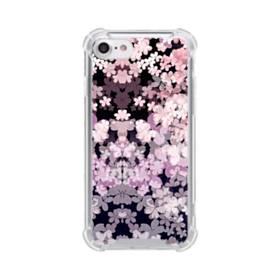 爛漫・夜桜 iPhone 8 TPU クリアケース