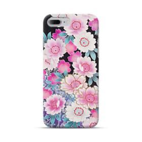 和の花柄 iPhone 7 Plus ポリカーボネート ハードケース