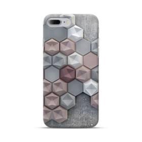 つぶつぶ六角形 iPhone 7 Plus ポリカーボネート ハードケース