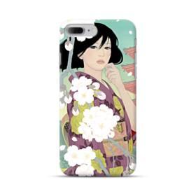 ザ・桜&ジャパンガール! iPhone 7 Plus ポリカーボネート ハードケース