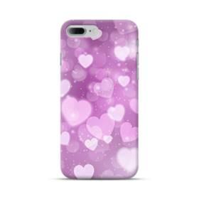爛漫・ハート柄 iPhone 7 Plus ポリカーボネート ハードケース